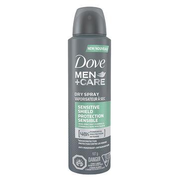 Dove Men+Care Dry Spray Antiperspirant - Sensitive Shield - 107g