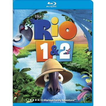 Rio 1 & 2 - Blu-ray