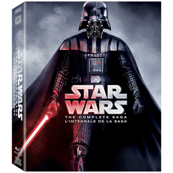 Star Wars: The Complete Saga - Blu-ray