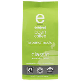 Ethical Bean Coffee - Classic Medium Ground Roast - 227g