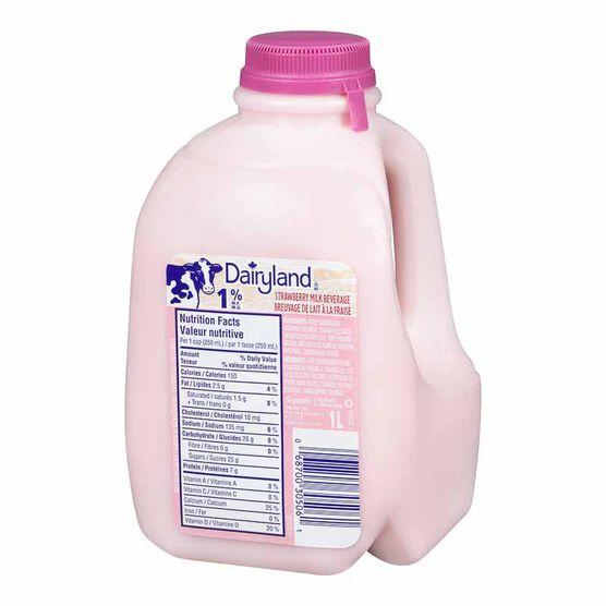 Dairyland Strawberry Milk-1L