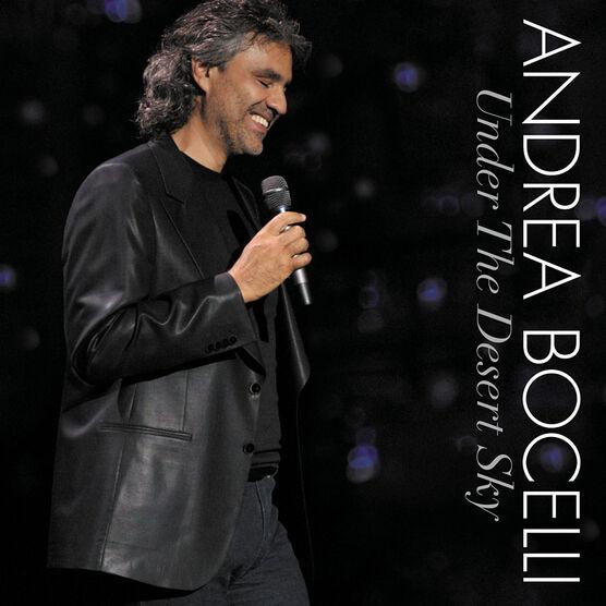 Andrea Bocelli - Under the Desert Sky - CD + DVD