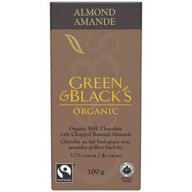 Green & Black's Organic Milk Chocolate - Roasted Almond - 100g