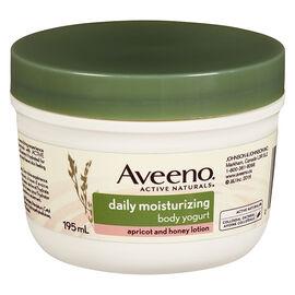 Aveeno Active Naturals Daily Moisturizing Body Yogurt Lotion - Apricot and Honey - 195ml