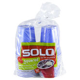 Solo Squared Cups - Assorted - 18oz/30's