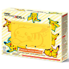 Nintendo 3DS XL Hardware Gaming Console - Pikachu Edition
