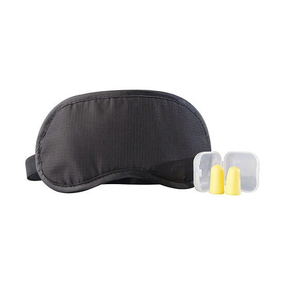 Austin House Eye Mask & Ear Plugs Set - Black - AH78EM91