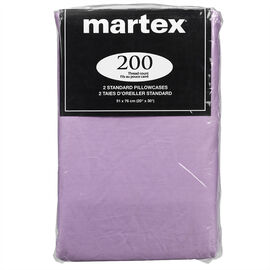 Martex Pillow Case - Standard - Assorted - 2 pack