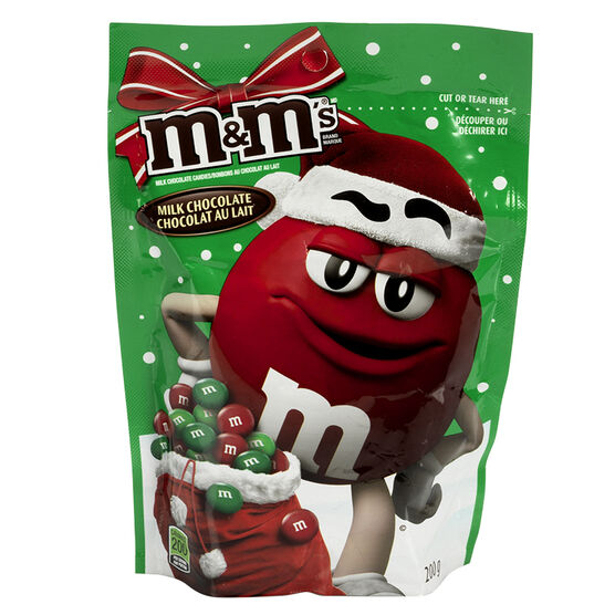 M&M's Milk Chocolate Holiday Mix - 200g