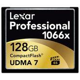 Lexar 1066x Pro CompactFlash Memory Card - 128GB
