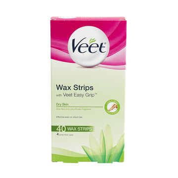 Veet Ready to Use Wax Strips - Normal to Dry Skin - 40's