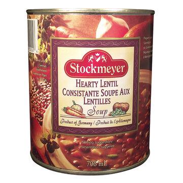 Stockmeyer Soup - Hearty Lentil - 796ml