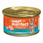 Iams Purrfect Delight Cat Food - Tuna-topia - 85g