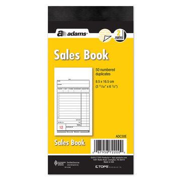 Adams Sales Books - 2 Part - 50's