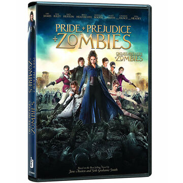Pride and Prejudice and Zombies - DVD