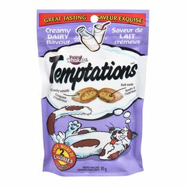 Whiskas Temptations Treats for Cats - Creamy Dairy - 85g