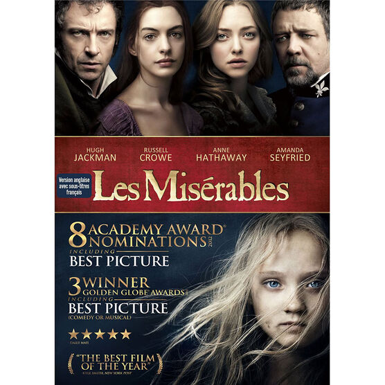 Les Miserables - DVD