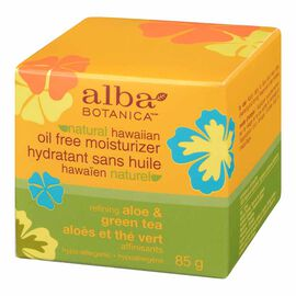 Alba Hawaiian Oil-Free Moisturizer - Aloe & Green Tea - 85g