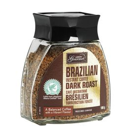 London Gourmet Instant Coffee - Brazilian Dark Roast - 100g