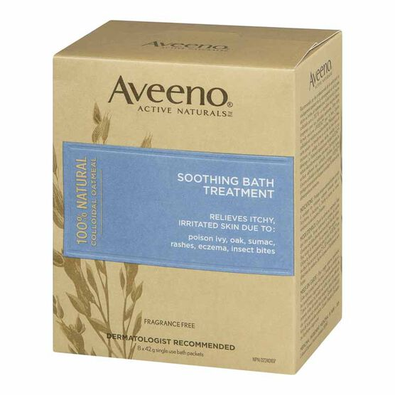 Aveeno Regular Bath Powder - 8 x 42g