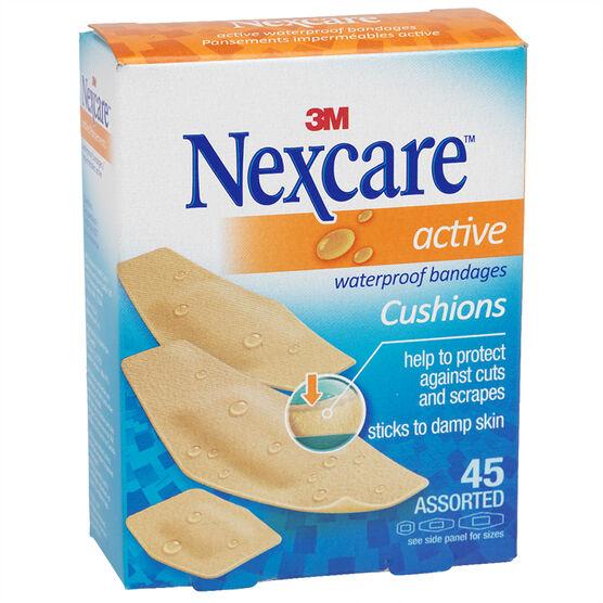 3M Nexcare Active Tan Bandages - 45's