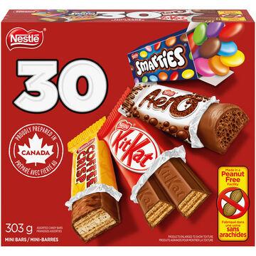 Nestle Mini Bars - Assorted - 30's