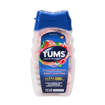 Tums Ultra Strength - Assorted Berries - 72's