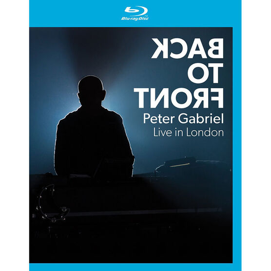 Peter Gabriel - Back to Front - Blu-ray