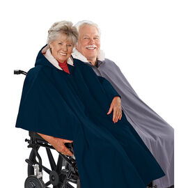 Silvert's Pile-Lined Winter Wheelchair Cape