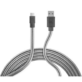 Logiix Piston Connect Steel Flex USB-C Cable - LGX12315