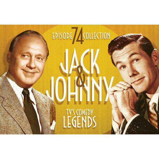 Jack & Johnny - Tv'S Comedy Legends - 74 Episode Collection - DVD
