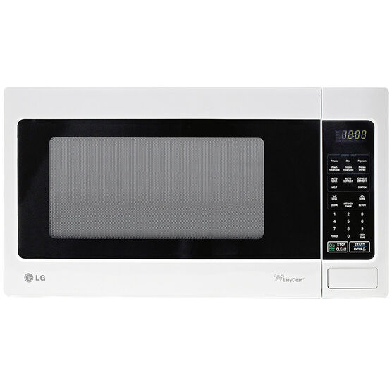 LG 1.5 cu.ft. Microwave Oven - White - LMS1531SW