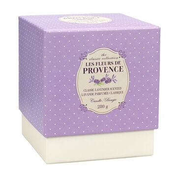 Les Fleurs de Provence Classic Lavender Scented Candle 280g