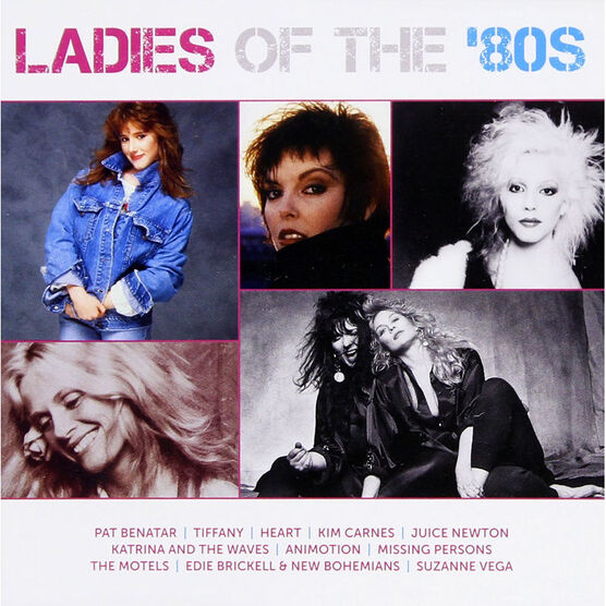Various Artists - Ladies Of The '80s - ICON - CD