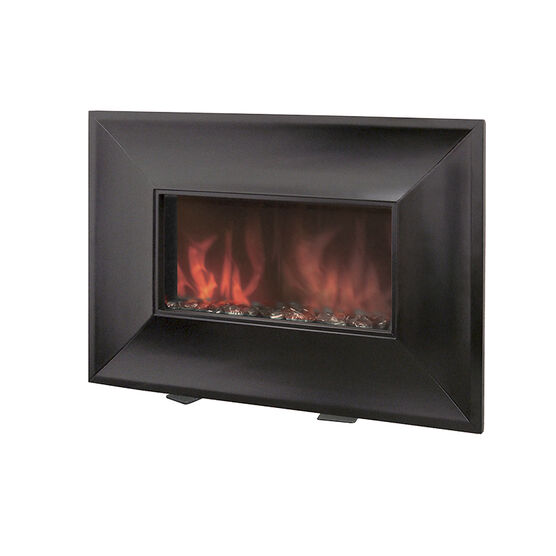 Bionaire Electric Wood Fireplace Heater Black Bef6700 Cn London Drugs