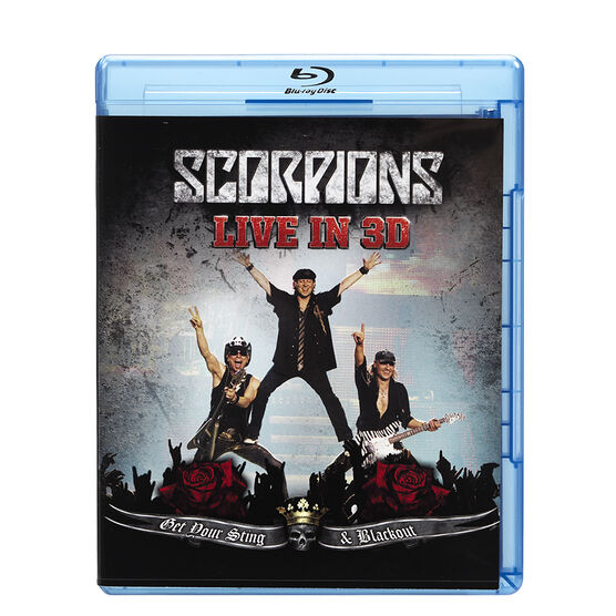 Scorpions - Get Your Sting & Blackout - Blu-ray
