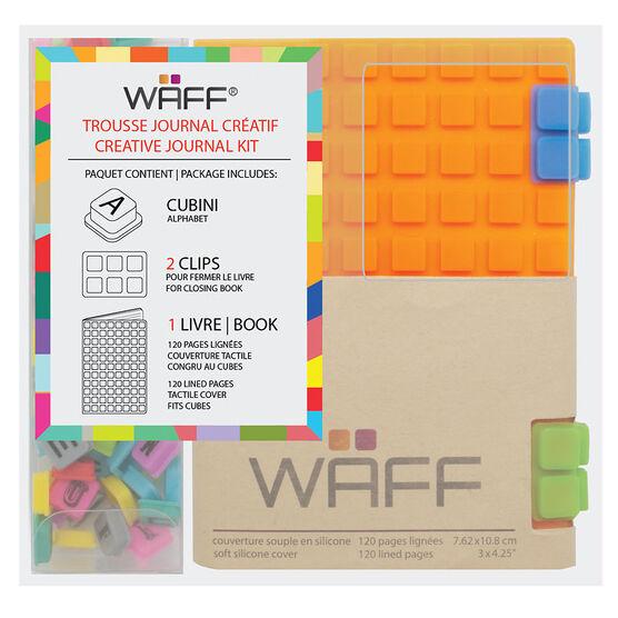 WAFF Mini Combo Journal - Orange