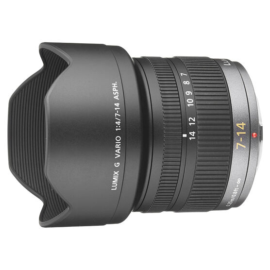 Panasonic Lumix G Vario 7-14mm f/4.0 Wide Angle Zoom Lens