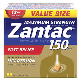 Zantac 150 Maximum Strength - 84's