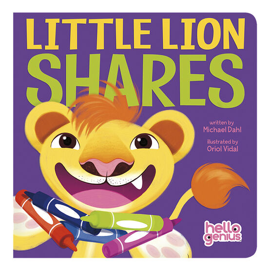 Little Lion Shares by Michael Dahl