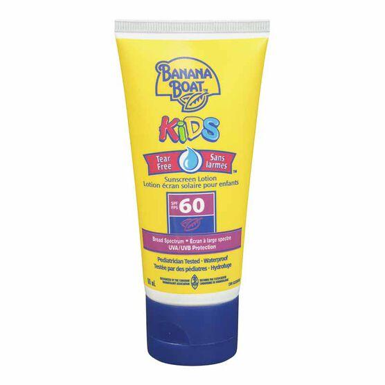 Banana Boat Kids Tear Free Sunscreen Lotion - SPF 60 - 90ml
