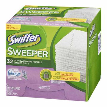 Swiffer Sweeper Dry Cloths Refills - Lavender Vanilla - 32's