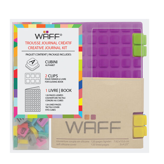 WAFF Mini Combo Journal - Purple