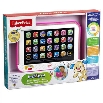 Fisher-Price Laugh & Learn Smart Stages Tablet - CHC74 - Assorted