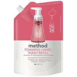 Method Foam Hand Wash Refill - Pink Grapefruit - 828ml