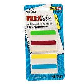 Redi-Tag 4 Colour Index Tabs - 48's