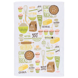Kitchen Style Terry Teatowel - Baking