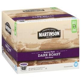 Martinson's Coffee Pods - Dark Roast - 48's
