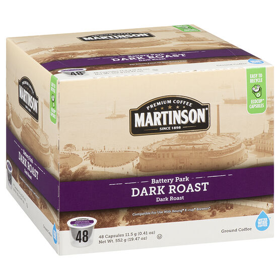 Martinson's Coffee Pods - Dark Roast - 48's