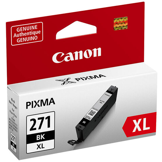 Canon Pixma CLI-271XL Ink Cartridge - Black - 0336C001